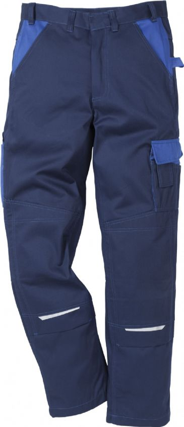 Fristads Icon Cotton Trousers 100813 (Navy/Royal Blue)